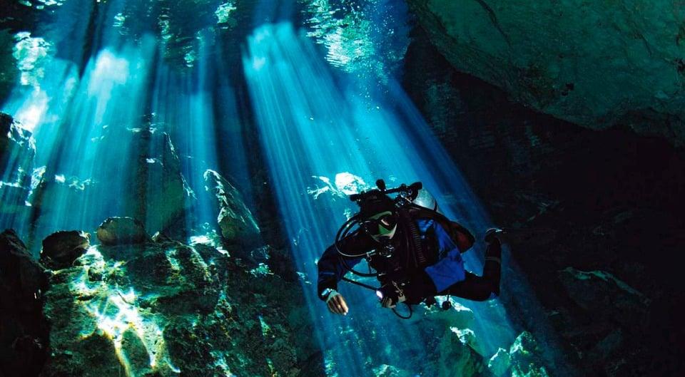 Plongée au Mexique : idée de voyage plongée aux Cenotes au Mexique